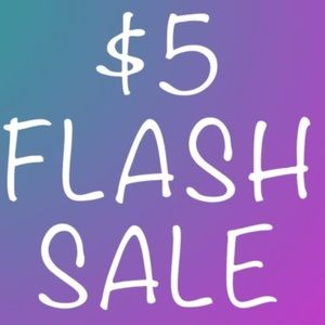 $5 FLASH SALE! EVERY CLOTHING ITEM IN CLOSET! 😊🎉
